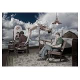22) Dream-Work IV - 59 X 40 Surreal Artwork: LE, S