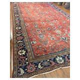 Antique Persian Mahal Rug #606