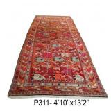 Beverly Hills Fine Vintage Caucasian Rug & Carpet