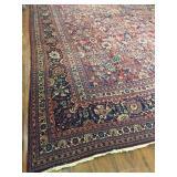 Antique Persian Tabriz Rug #617