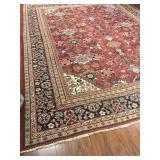 Antique Soltanabad Persian Rug #605