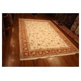 Fine Handmade Persian Tabriz Wool & Silk 10x6.9,