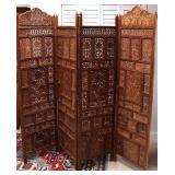 Ancient c1700 Beautful Teak Wall Panels / Room Div