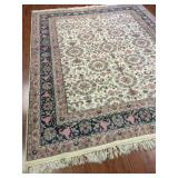 Indo-Persian Ivory Rug #1081-647
