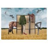 45) Transmutation - 60 X 40 Surreal Artwork: LE, S