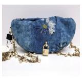 RARE Dolce & Gabbana Flap Lock Body Handbag #9