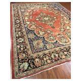 Persian Mahal Rug #619  13.0 x 8.8