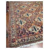 Persian Rug  13.8 x 12.8 #609