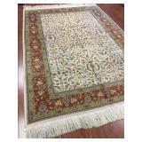 Persian Tabriz w. Floral Design of Wool #574