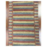 Quality Contemporary Nepalese Runner Rug #239