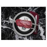 61) Jazz Steak 58 X 41 Surreal Artwork: LE, Signed
