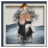62) Marquise de Sade - 50 X 50 Surreal Artwork: LE