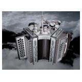 66) Melophobia - 70 X 50 Surreal Artwork: LE, Sign