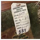 Vintage Pakistani Rug (Fine Antique Reproduction)#
