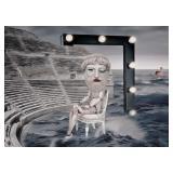 69) Mrs. Hamlet - 60 X 42 Surreal Artwork: LE, Sig