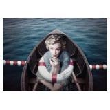 72) Monroe at Sea - 60 X 40 Surreal Artwork: LE, S