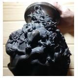 "Antique Japanese Bronze Dragon Sculpture 13"", 15-"