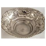 Antique German Imperial Silver Dish