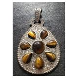 Vintage Silver Genuine Gemstone Jewelry 10.00 gr