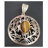 Vintage Silver Genuine Gemstone Jewelry 12.10 gr