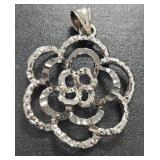 Vintage Silver Genuine Gemstone Jewelry 5.30 gr