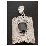 Vintage Silver Genuine Gemstone Jewelry 5.90 gr