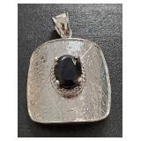 Vintage Silver Genuine Gemstone Jewelry 7.20 gr