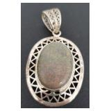 Vintage Silver Genuine Gemstone Jewelry 9.80 gr