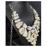Vintage Silver Genuine Gemstone Jewelry Set