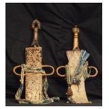 Rare Pair of African Bamileke Swords of Camaroon-C