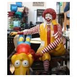 Rare Ronald McDonald Life-Size Statue
