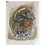 Original Picasso Theme Water Color Painting Signed