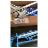 Rockier Drawer Jigs, Mitre Saw, hacksaw, stap and