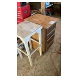 """2 WorkBenches 1 With Drawers 36"""" Tall"""