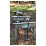 2 Saw Horses Roller And Workbench