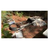 Misc Piles Of Approximately 20 4x8 & 4x10 Tin