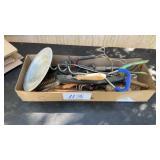 Misc Flat Of Garden Tools Ashtray Etc