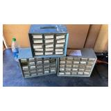 3 Screw Cabinets With Contents 2 9x12