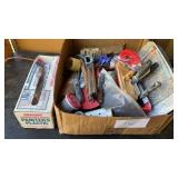 Drywall/Painters Box Misc Supplies And Tools