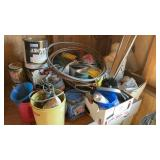 Misc Lot Of Nails Copper Paint Etc Must Take All