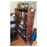 """48""""x13""""x64"""" Bookcase On Casters Contents Not"""