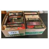 2 Boxes Of Stephen King Novels