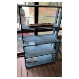 Wood Shelf Rack 36x17x61 Tall