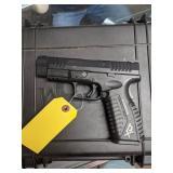 Springfield XD 4.5 Tactical 40 Cal