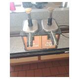Hot caramel & Hot Fudge Dispenser