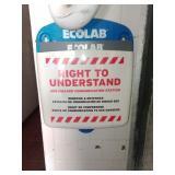 Ecolab Right to Understand  sds hazard