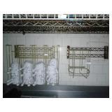 (2)rack holders & 42 bowls