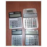 4- calculators
