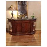Henredon wood furniture