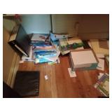 Labels, folders, paper and other office supplies